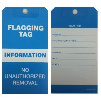 LT1020F - FLAGGING TAGS