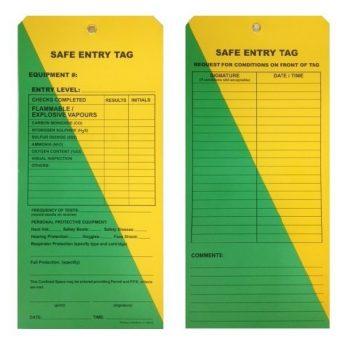 LT1020SET - SAFE ENTRY TAGS