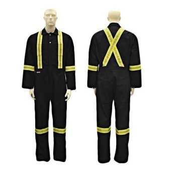 Poly-Cotton Navy Coveralls ( S41585 )