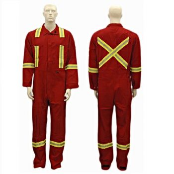 Ultrasoft Red Coveralls - ( U207RTL-R )