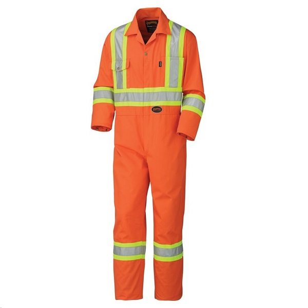 94b89d876b2f 5514 SAFETY POLY COTTON COVERALL